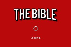 The Bible - Netflix loading screen parody